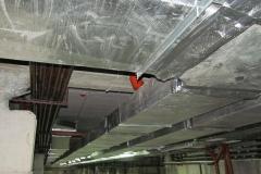 Монтаж приточно-вытяжной вентиляции и дымоудаления